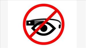 no google glass allowed